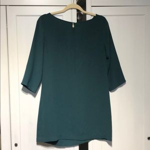 Forest green dress Nordstrom BP